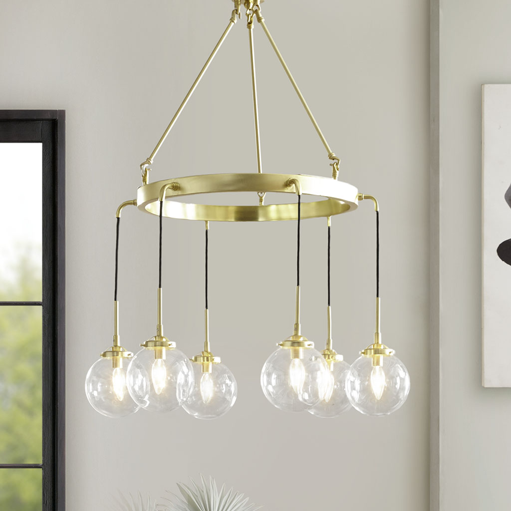 Material: 50% Metal, 40% Glass, 10% Others  Base Material: Metal  Shade Material: Glass  Base Finish: Gold