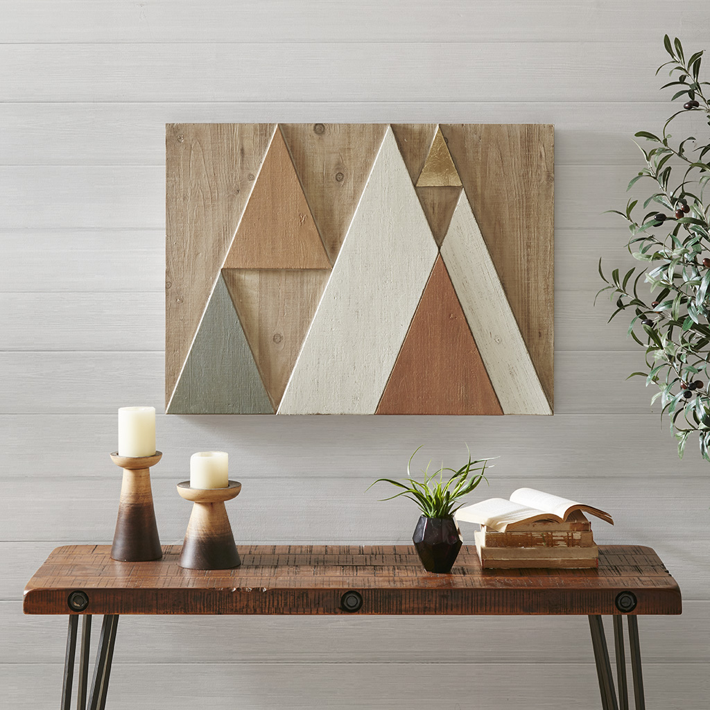 INK+IVY - Ranger Wood Wall Decor - Multi - See below Wood