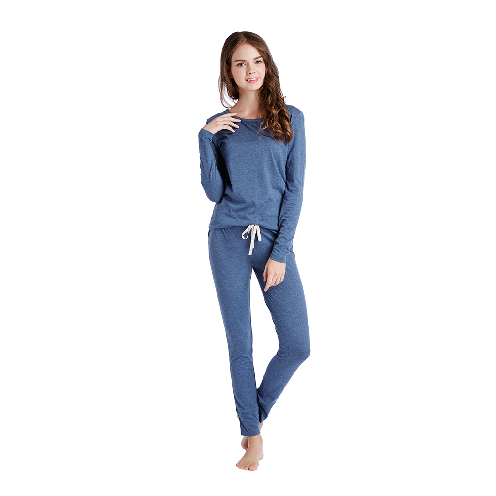 INK+IVY - Solid Lounge Set - Blue - X Large