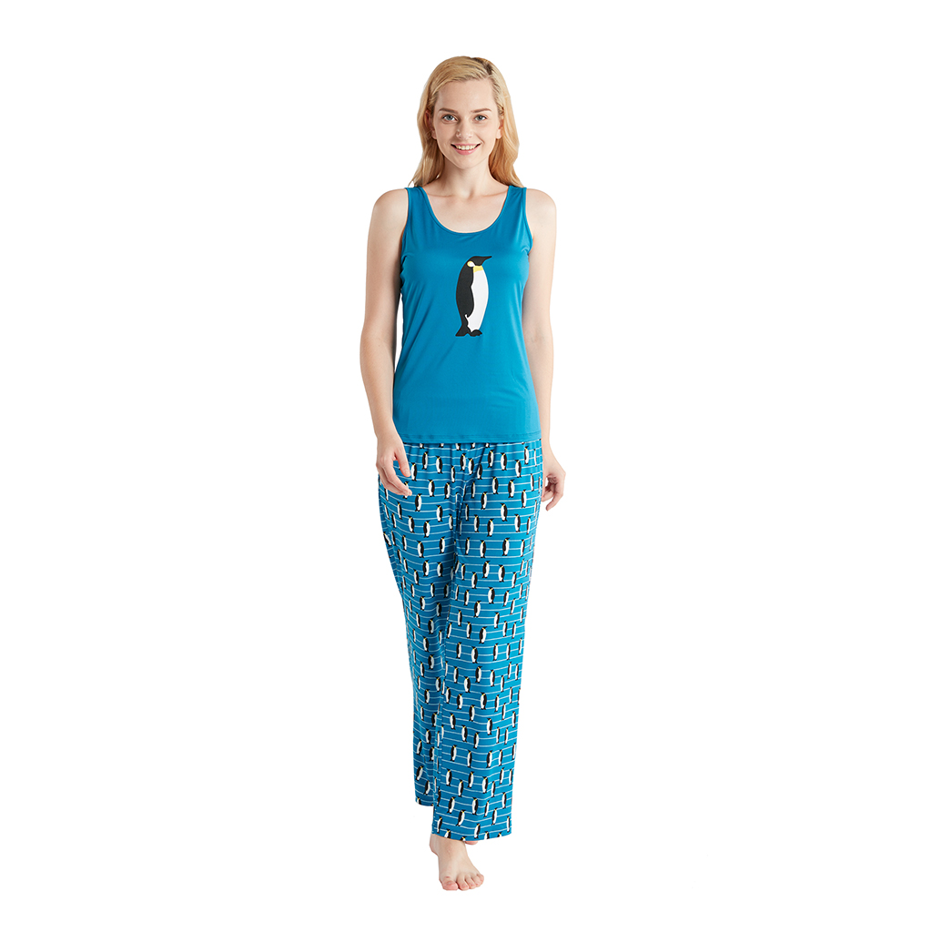 Jammies by Hipstyle - Eckford 3 Piece Pajama Set - Navy - Small