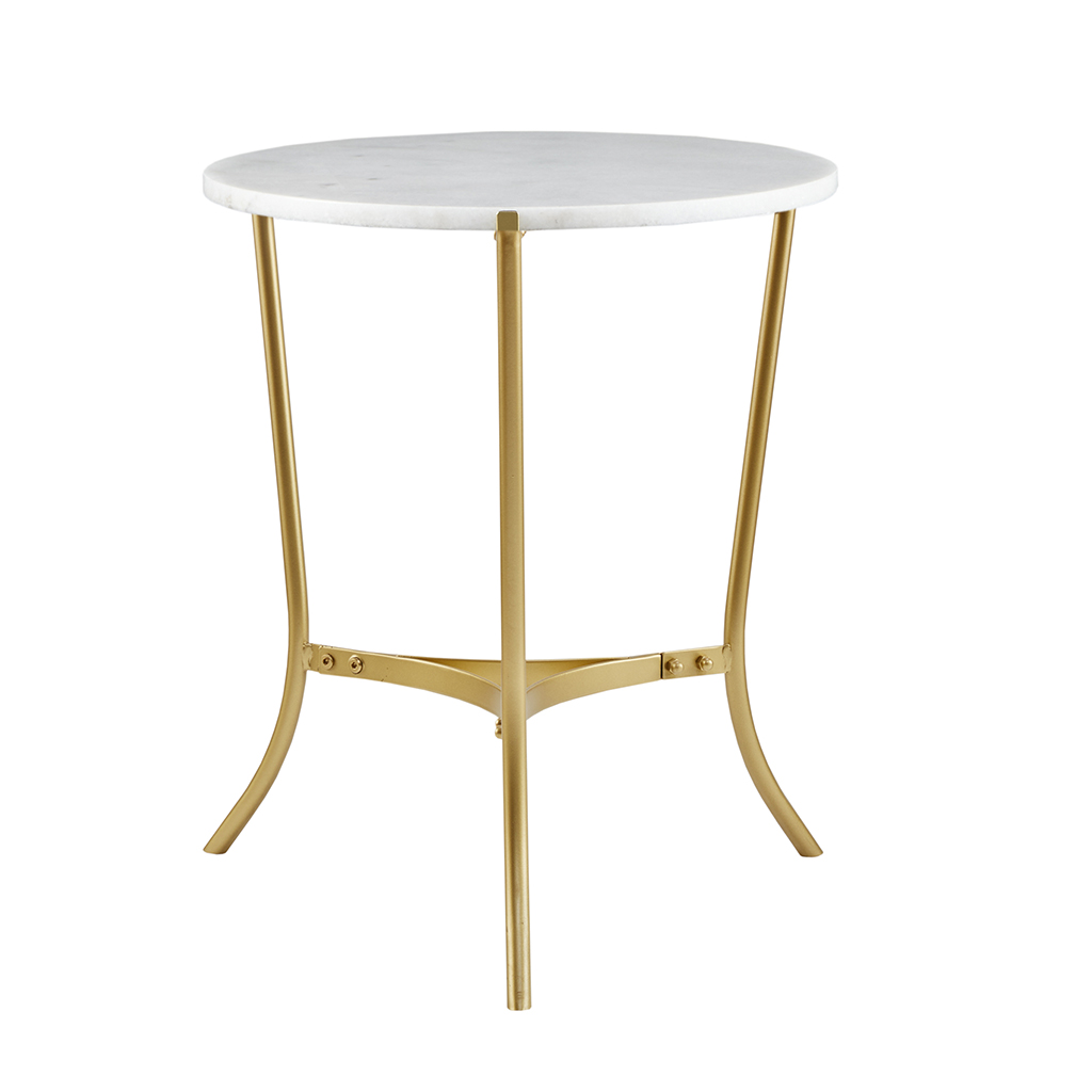 Madison Park Signature - Martini 20-inch Table - Gold - See below