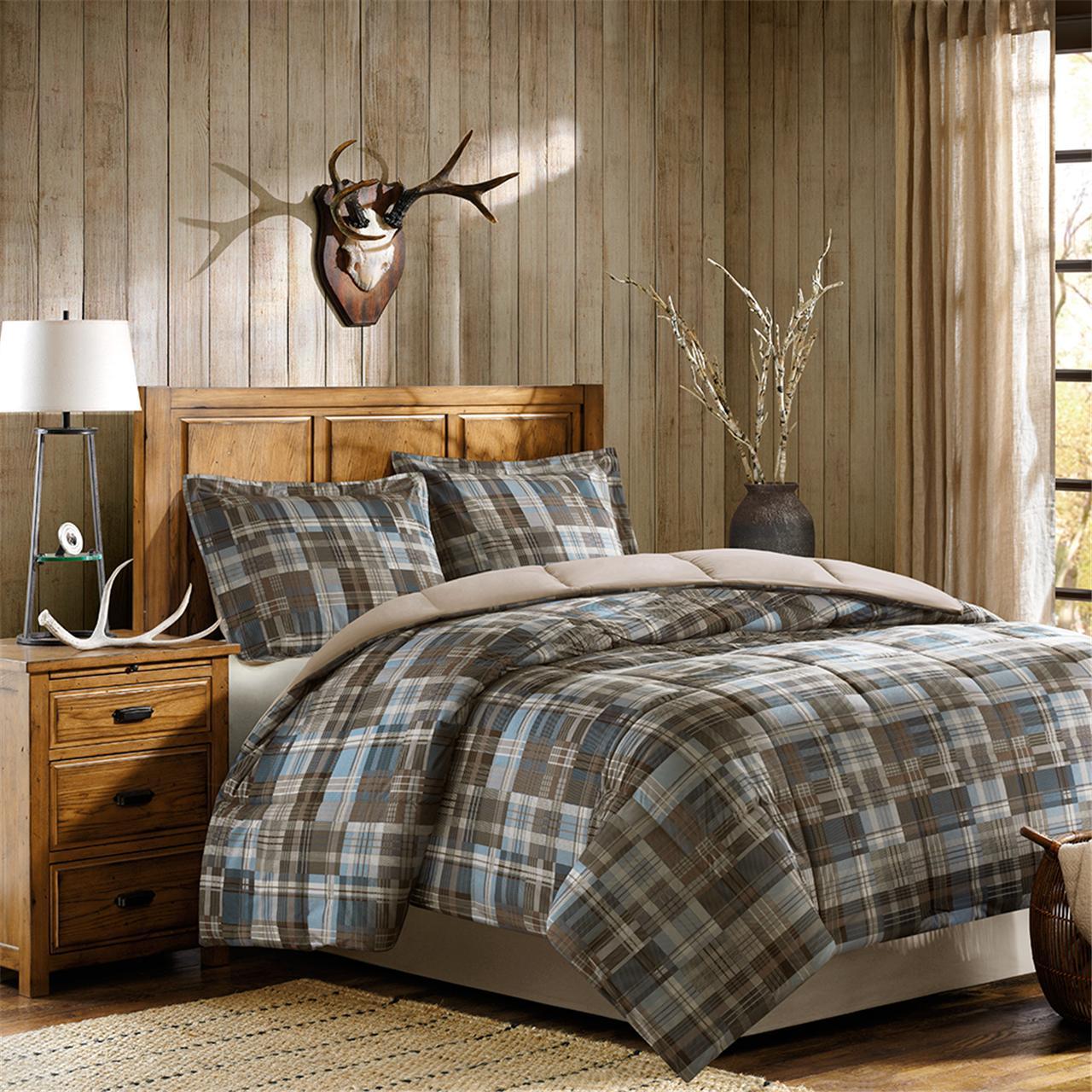 Woolrich - White River Down Alternative Comforter Mini Set - Multi - Twin