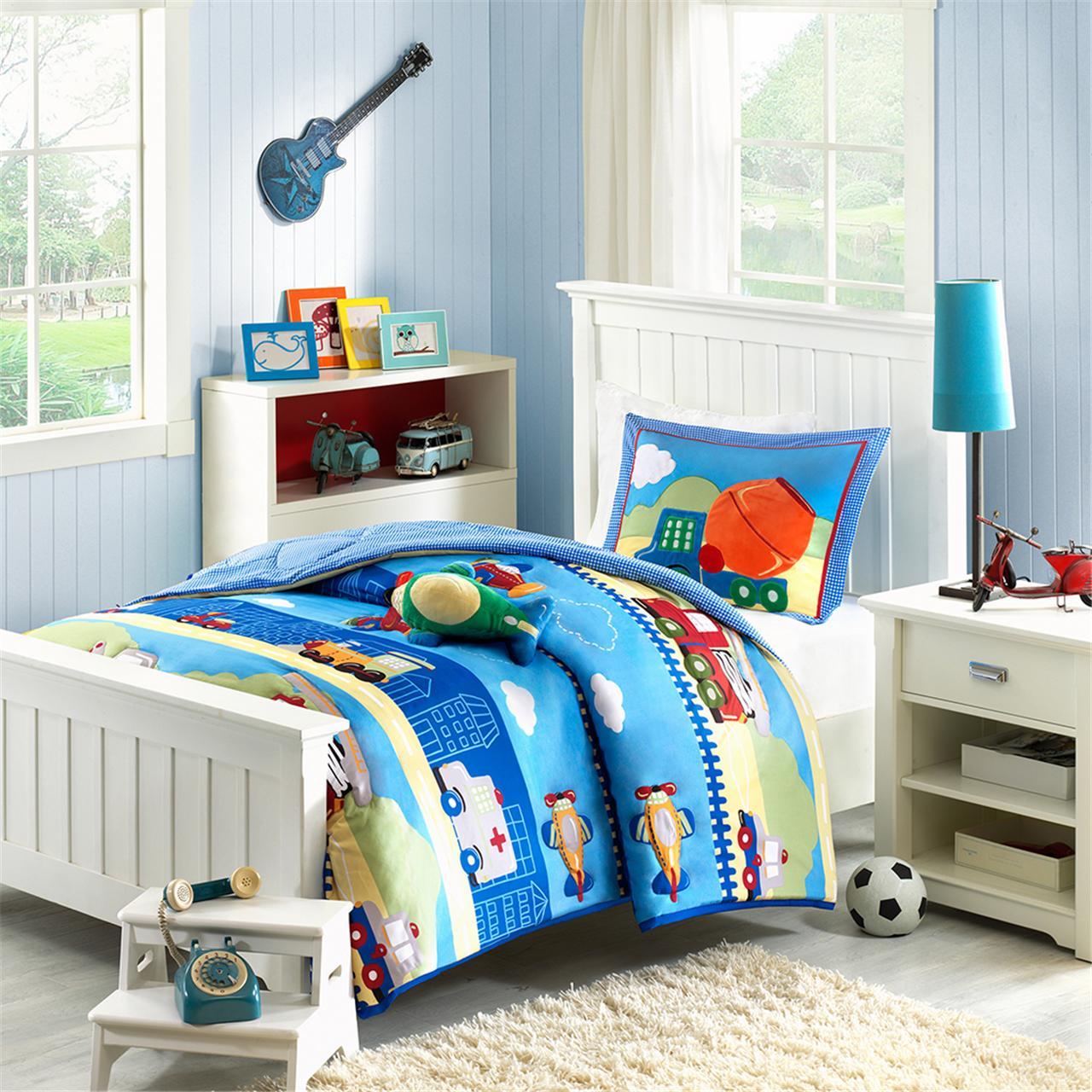 Mi Zone Kids - Totally Transit Comforter Set - Multi - Twin
