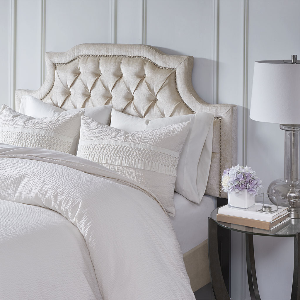 Madison Park - Colgate Queen Headboard - Cream - Queen