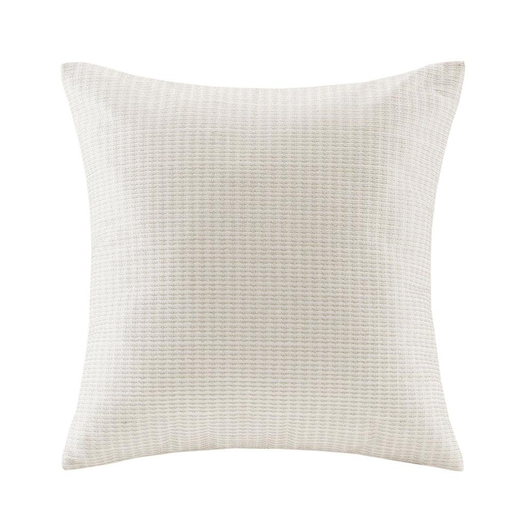 Echo Design - Juneau Square Pillow - Ivory - 18x18