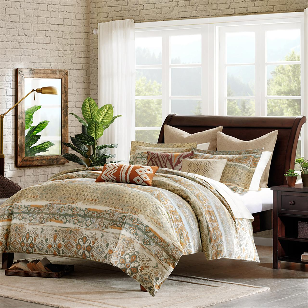 Harbor House - Castle Hill Duvet Cover - Multi - King
