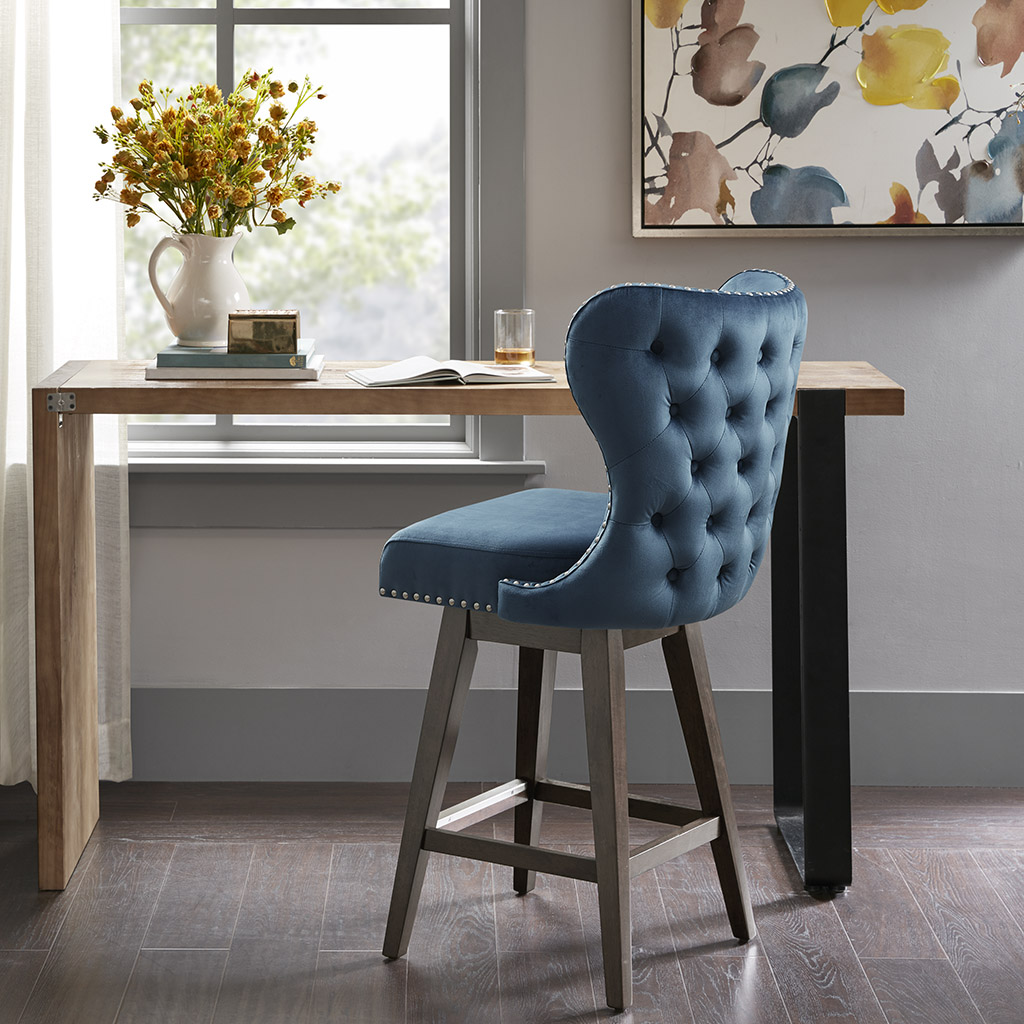 Frame Composition: Solid wood;  Leg Material: Solid wood;  Fabric Composition: 100%Polyester;  Seat Construction: Plywood + Foam;  Cushion or Upholstery Fill Material: Foam;  Wood Finish: Dark Coffee;  Metal Finish: Matt Silver