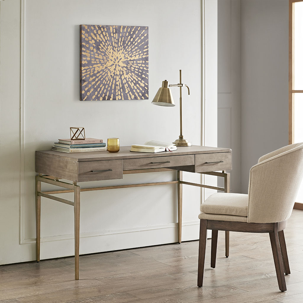 Madison Park - Danbury Writing Desk - Natural - See below