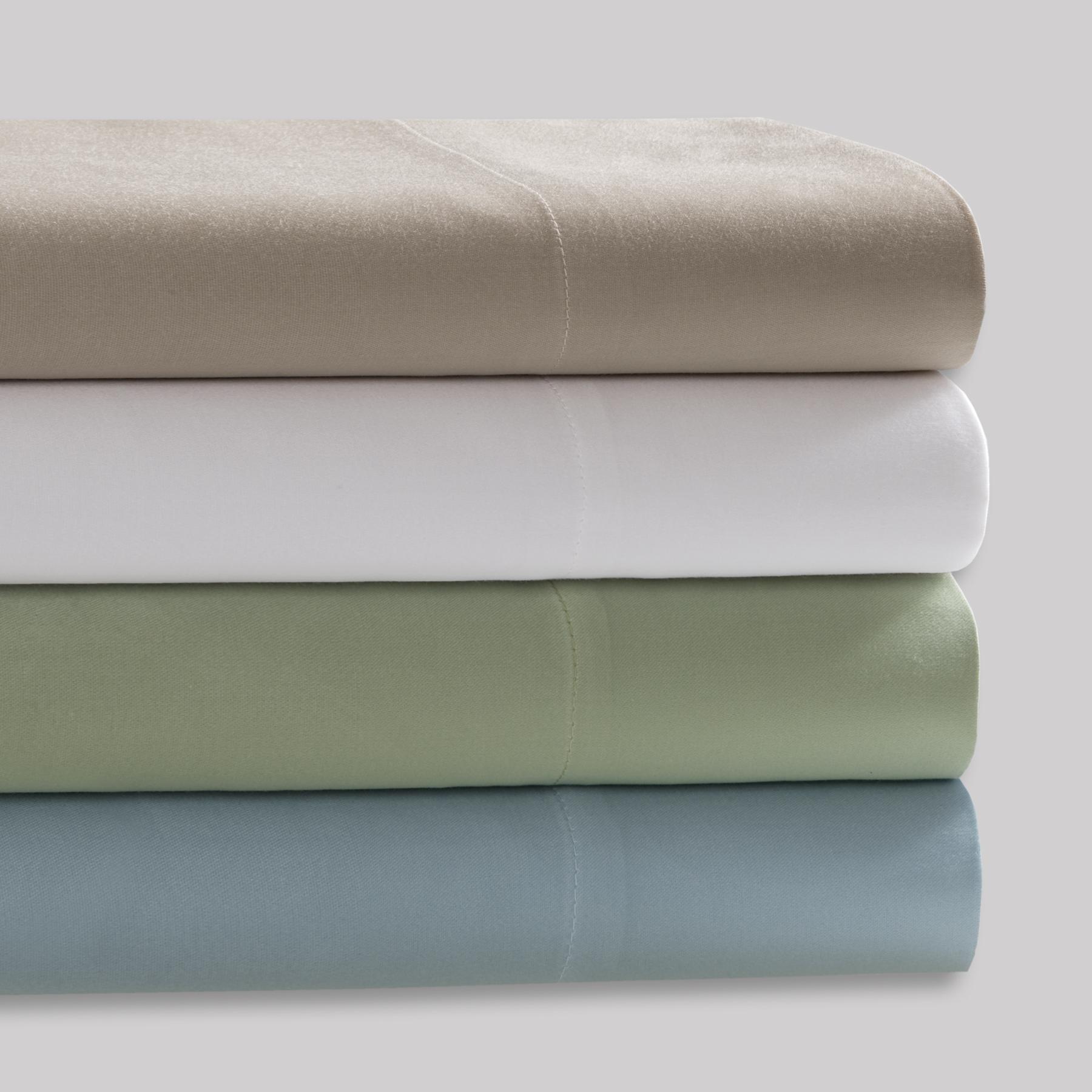 Premier Comfort - 300TC Cool Sleep Sheets - White - Cal King