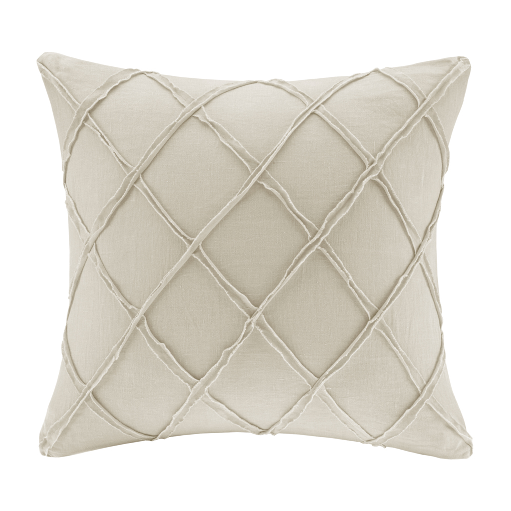 Harbor House - Linen Square Pillow - Linen - 18x18