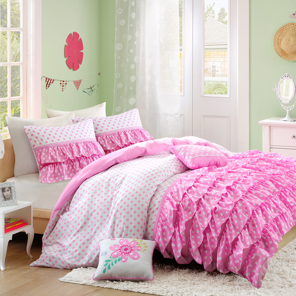 Mi Zone - Morgan Comforter Set - Pink - Twin/Twin XL