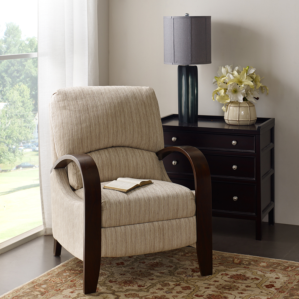 Madison Park - Archdale Bent Arm Recliner - Tan Multi - See below