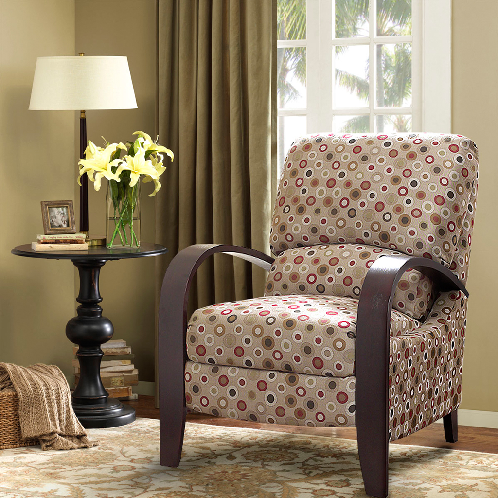 Madison Park - Archdale Bent Arm Recliner - Cream - See below