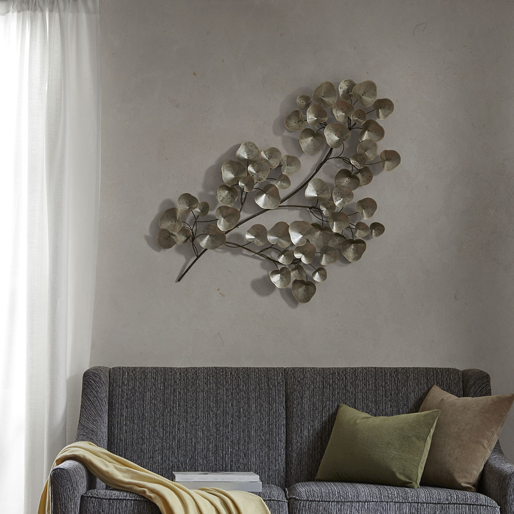 Madison Park - Mayfair Wall Decor - Silver - See below Metal