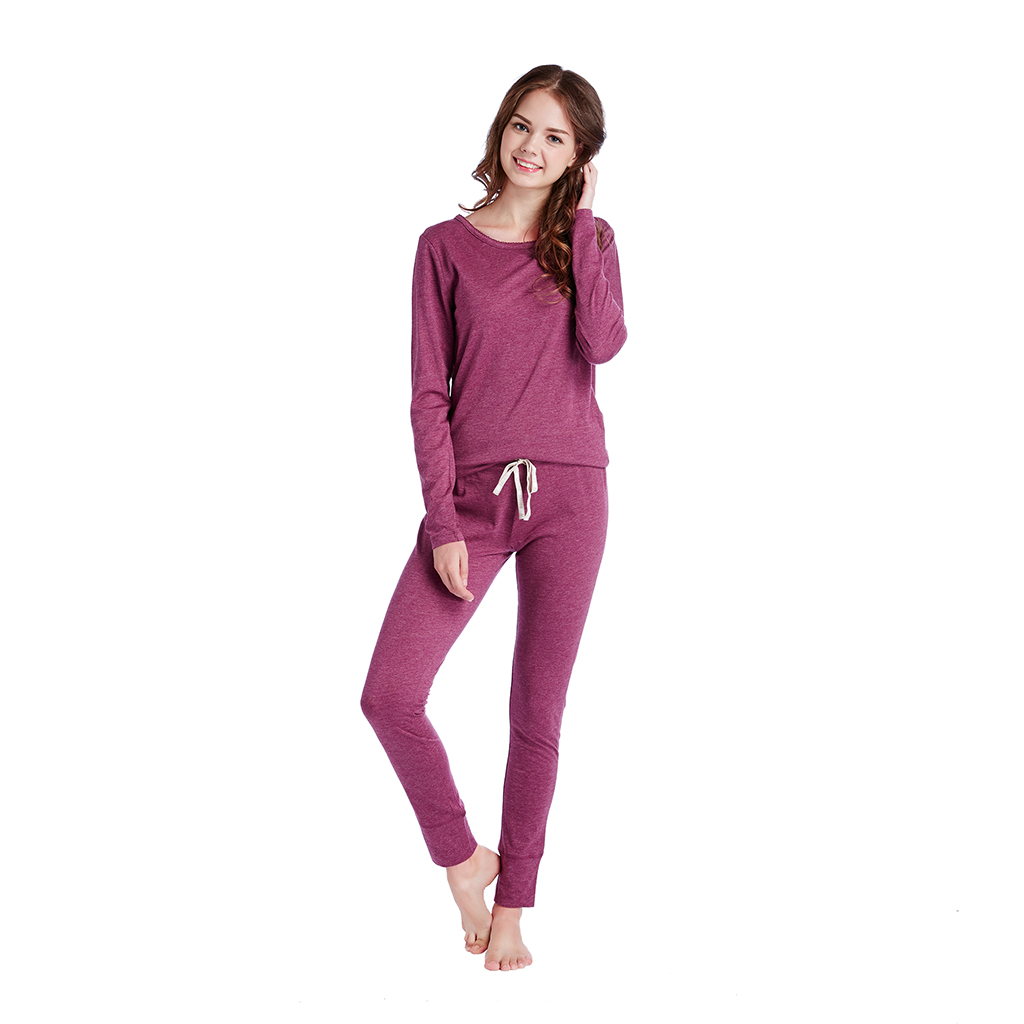 INK+IVY - Solid Lounge Set - Plum - Large